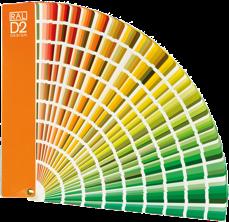 RAL D2 färgfjäder