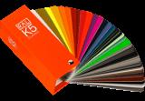 RAL K5 semi-mat-kleurenwaaier
