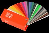 RAL K5 gloss-kleurenwaaier