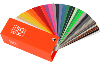 RAL K5 gloss color fan