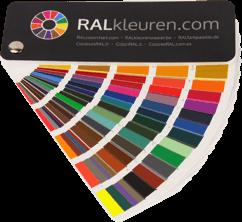 muestrario de colores RAL K7